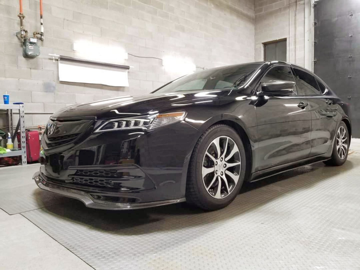 BESPOKE FRONT LIP (FIRST GEN ONLY) -  - Yomato Carbon - Montreal Canada