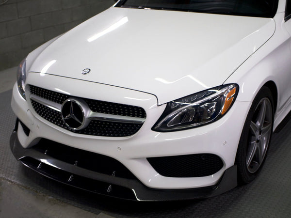 BRS STYLE FRONT LIP (AMG PKG ONLY) - Aerodynamics - Yomato Carbon - Montreal Canada