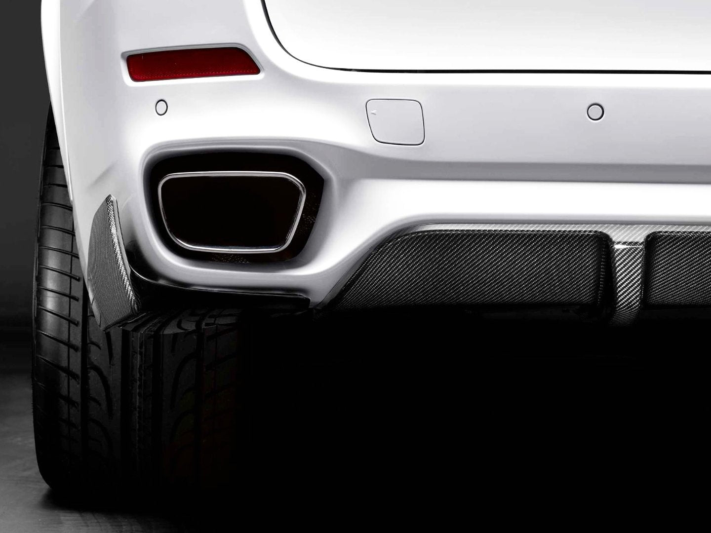 M PERFORMANCE REAR SIDE SPLITTERS -  - Yomato Carbon - Montreal Canada