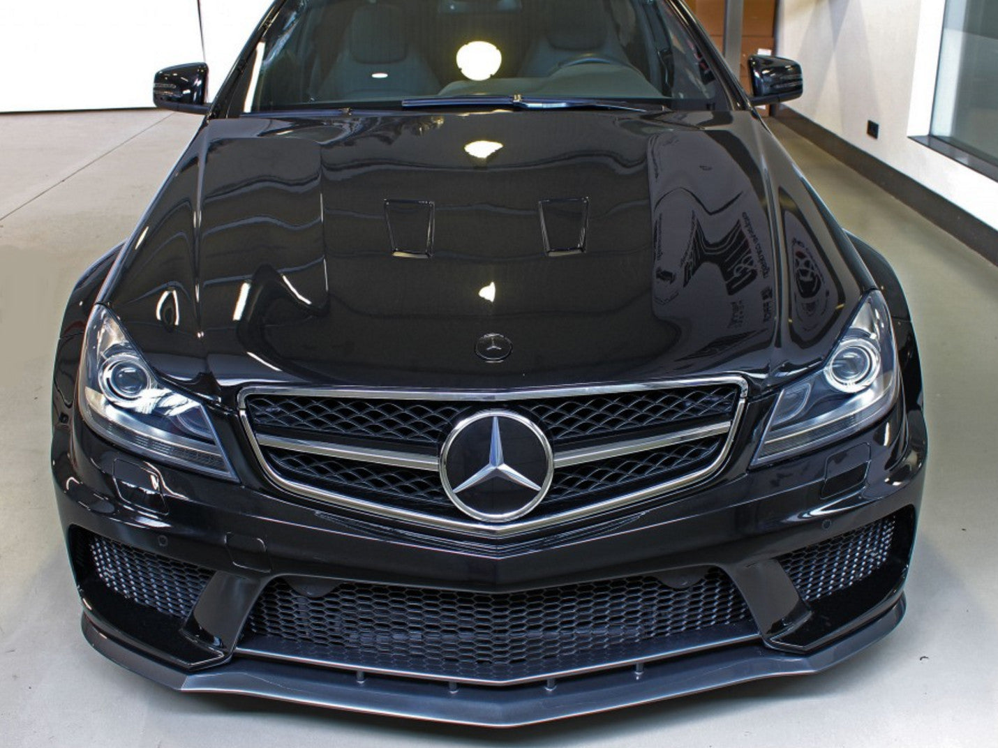 BLACK SERIES WIDE BODY KIT - W204 C CLASS AMG C63 COUPE / Body Kit Only / In Full - BODY KIT - Yomato Carbon - Montreal Canada