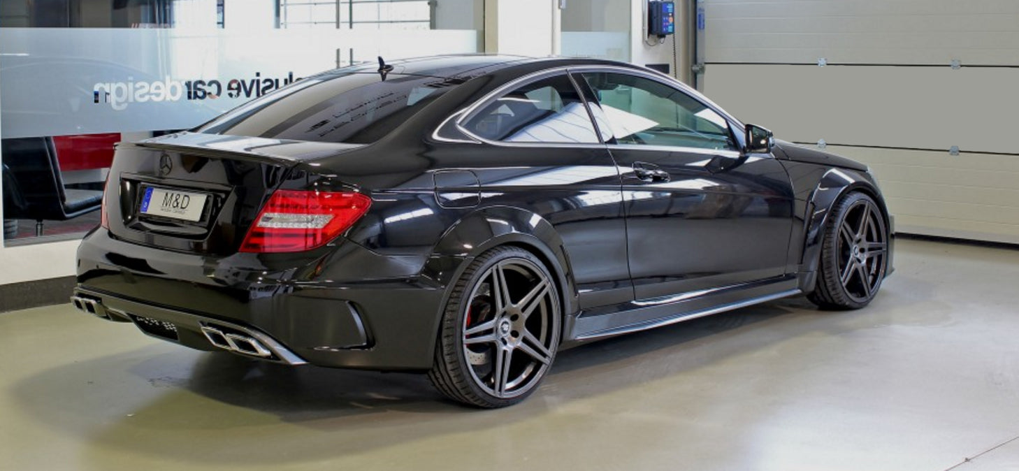 BLACK SERIES WIDE BODY KIT - BODY KIT - Yomato Carbon - Montreal Canada