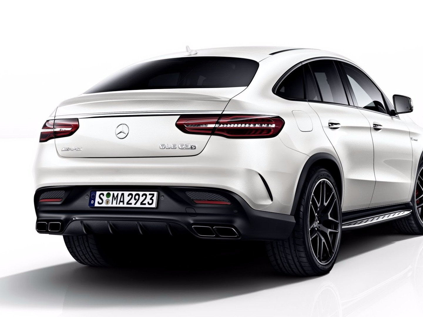 GLE63 AMG COUPE DIFFUSER KIT (GLE43 COUPE ONLY) - BODY KIT - Yomato Carbon - Montreal Canada
