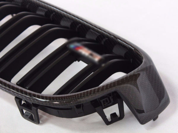 BMW ///M GRILLE - F8X M3/ M4 - Exterior Accessories - Yomato Carbon - Montreal Canada