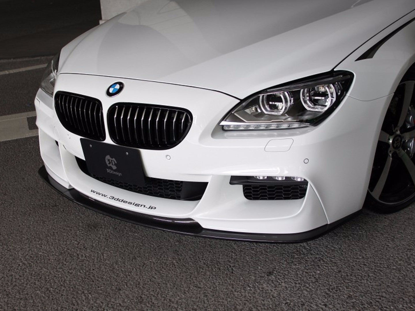 3D STYLE PERFORMANCE FRONT LIP - Aerodynamics - Yomato Carbon - Montreal Canada