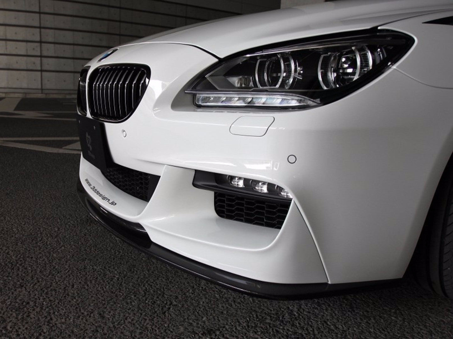 3D STYLE PERFORMANCE FRONT LIP -  - Yomato Carbon - Montreal Canada