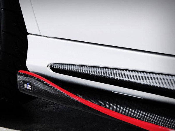 RZT SIDE SKIRTS - W117 CLA CLASS / Carbon Fiber Side Skirts -  - Yomato Carbon - Montreal Canada