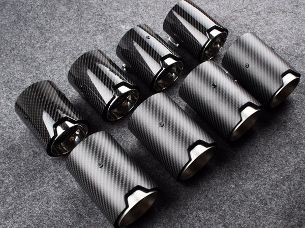 M PERFORMANCE EXHAUST TIPS - Exterior Accessories - Yomato Carbon - Montreal Canada