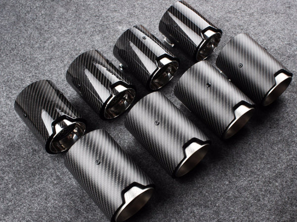 M PERFORMANCE EXHAUST TIPS - F8X M2 M3 M4 - Exterior Accessories - Yomato Carbon - Montreal Canada