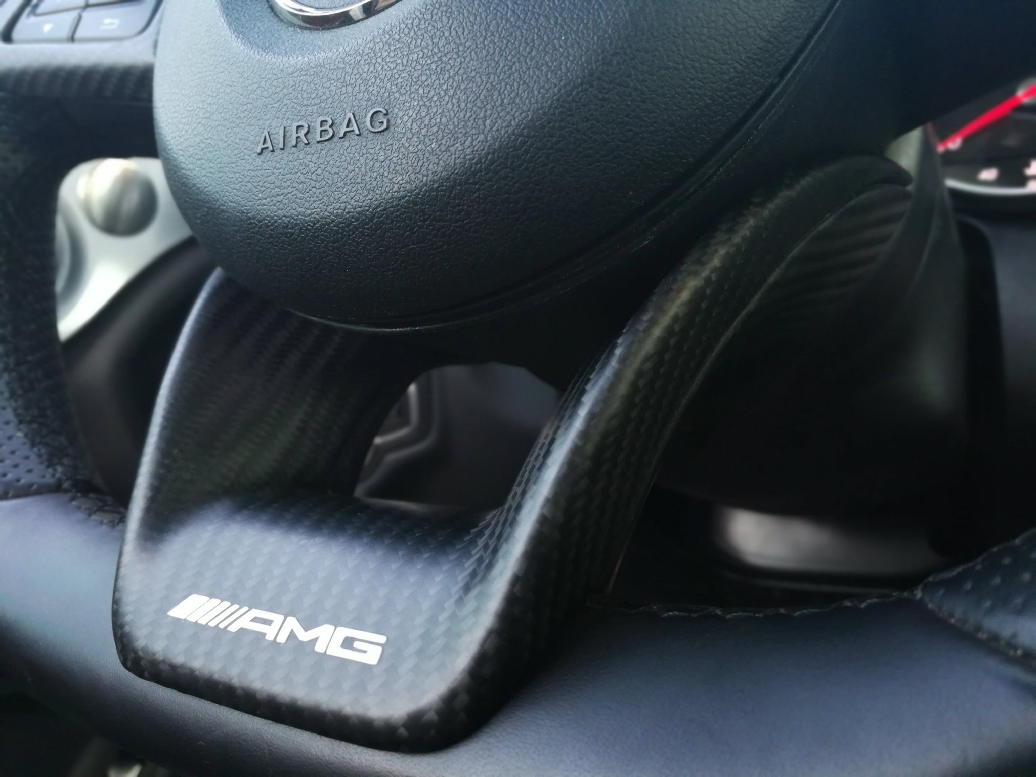AMG PERFORMANCE STEERING TRIMS -  - Yomato Carbon - Montreal Canada