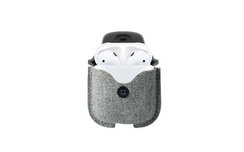 Twelve South AirSnap Twill for AirPods - Fog