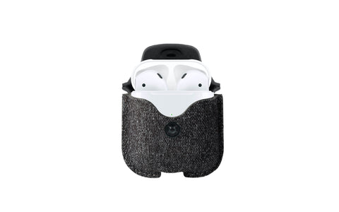 Twelve South AirSnap Twill for AirPods - Smoke