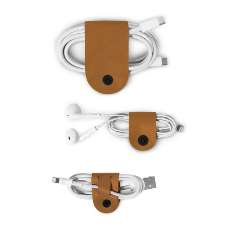 Twelve South CableSnap Leather Cable Organiser