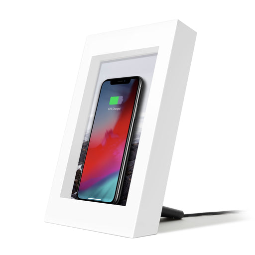 Twelve South PowerPic Wireless Charger for iPhone - White