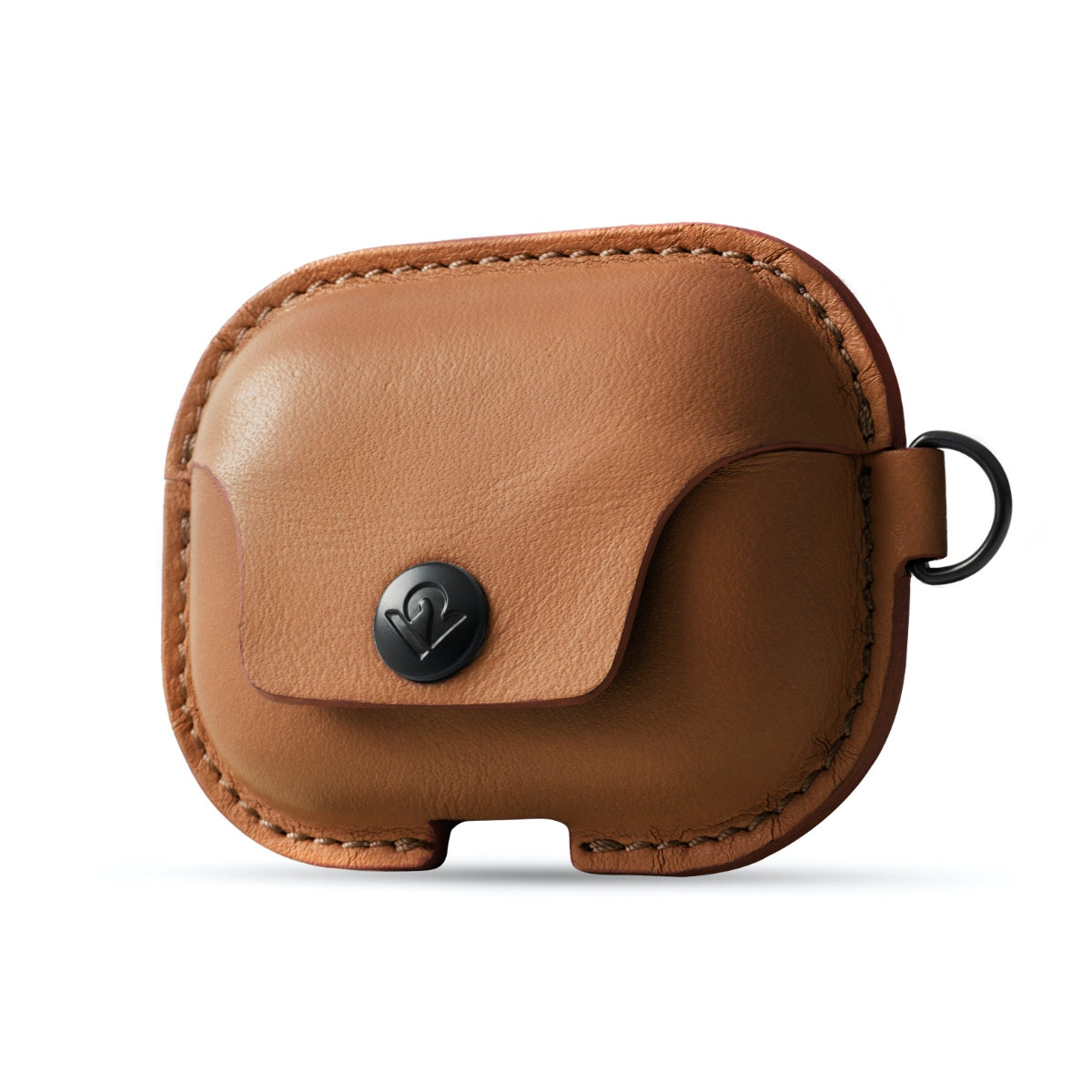 Twelve South AirSnap Pro for AirPods Pro - Cognac