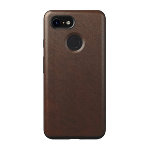 Nomad Rugged Leather Case for Google Pixel 3 - Rustic Brown