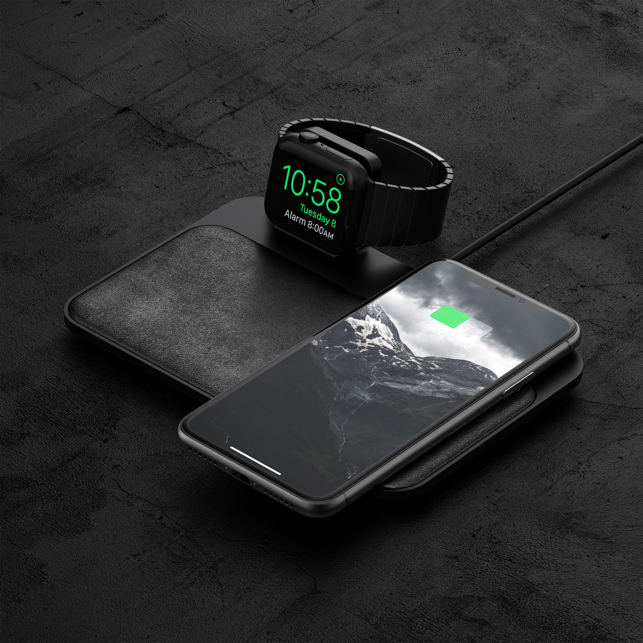 Nomad Base Station Wireless Charger - Apple Watch Edition