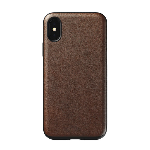 Nomad Horween Leather Rugged Case for iPhone X / XS