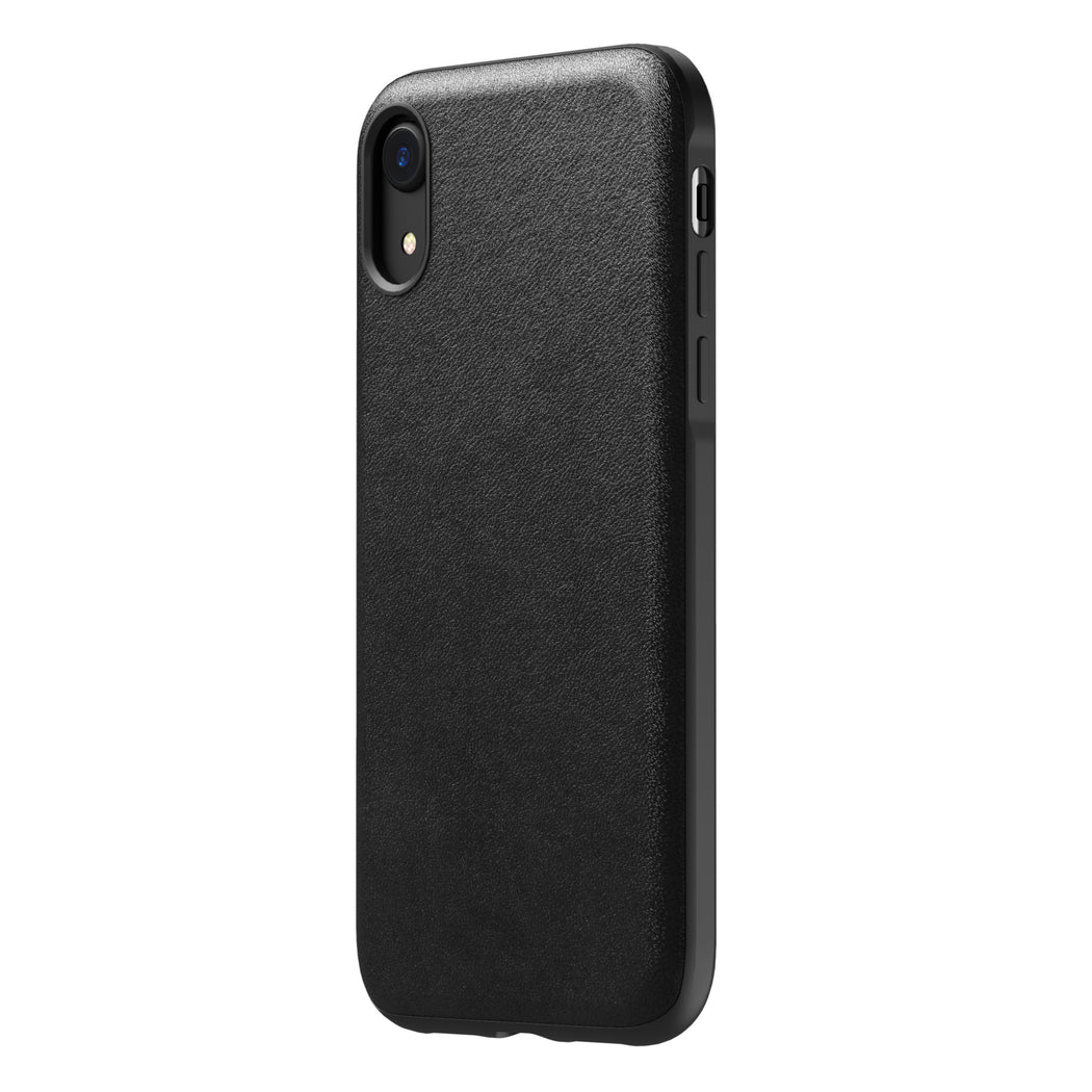 Nomad Horween Leather Rugged Case for iPhone XR