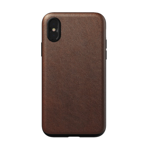 Nomad x Moment Lens Rugged Case for iPhone X/XS - Rustic Brown