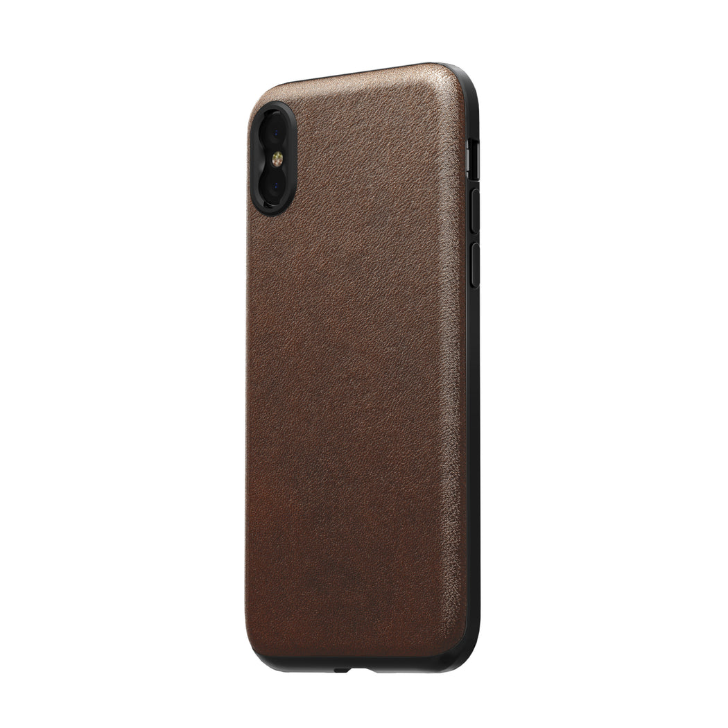 best website 2c6f2 a9aee Nomad x Moment Lens Rugged Case for iPhone X/XS - Rustic Brown