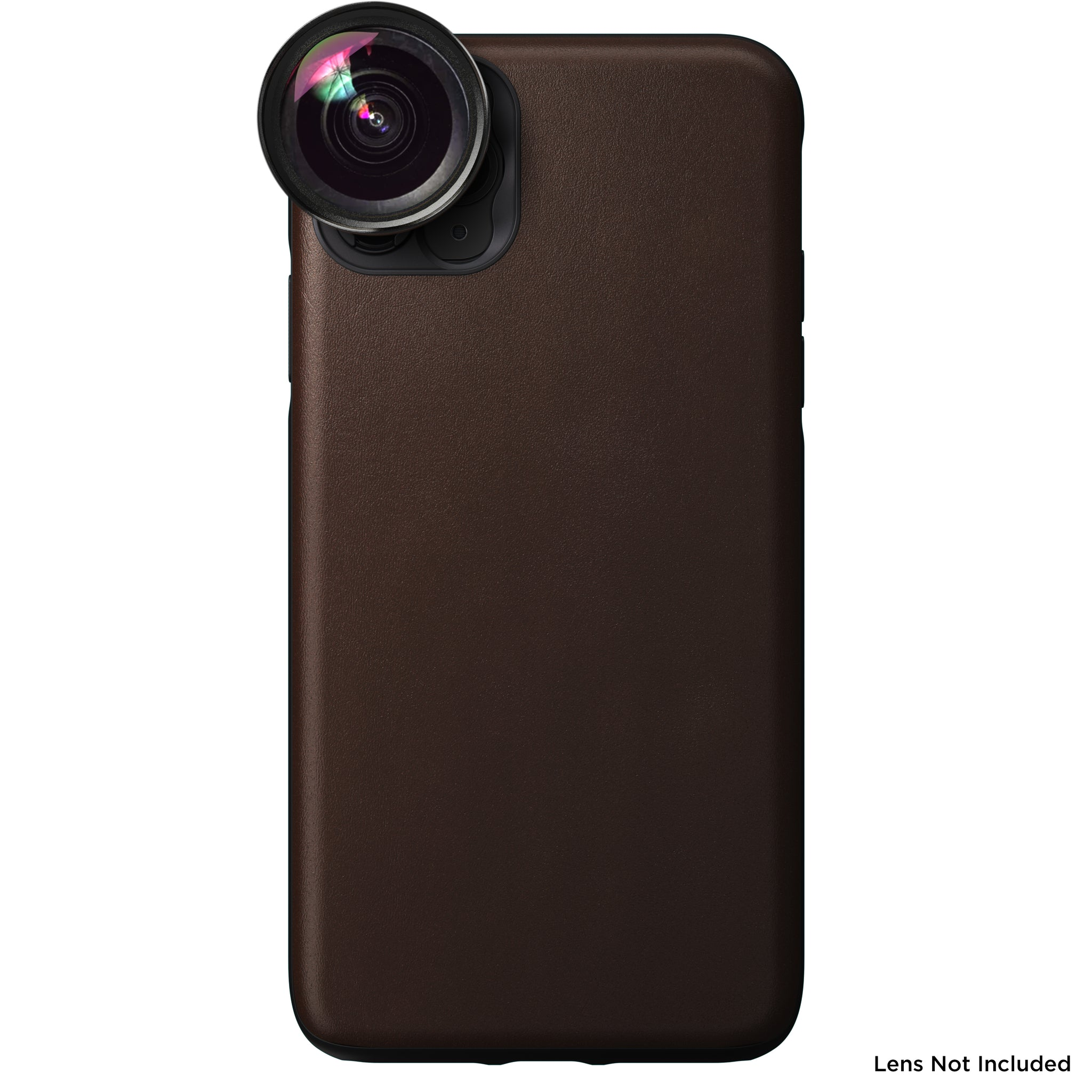 Nomad x Moment Lens Rugged Case for iPhone 11 Pro Max - Rustic Brown