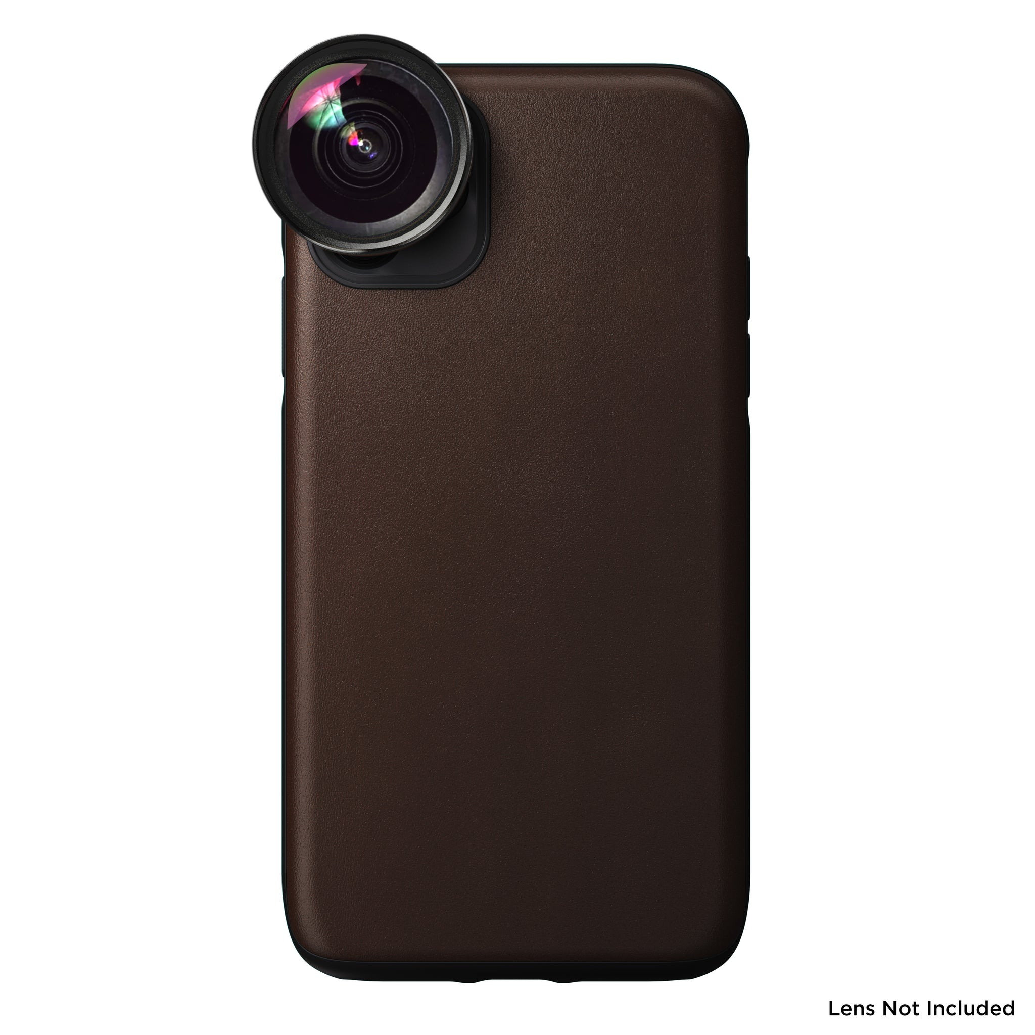 Nomad x Moment Lens Rugged Case for iPhone 11 - Rustic Brown