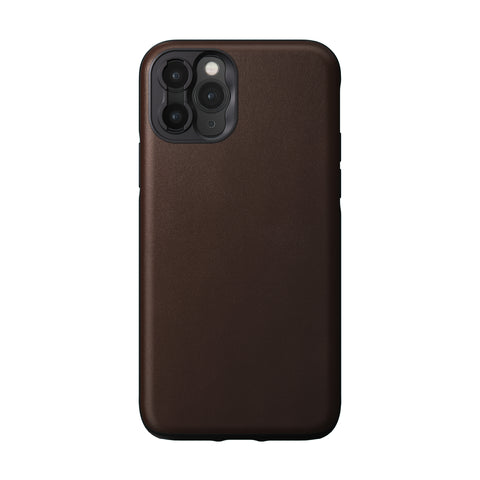 Nomad x Moment Lens Rugged Case for iPhone 11 Pro - Rustic Brown
