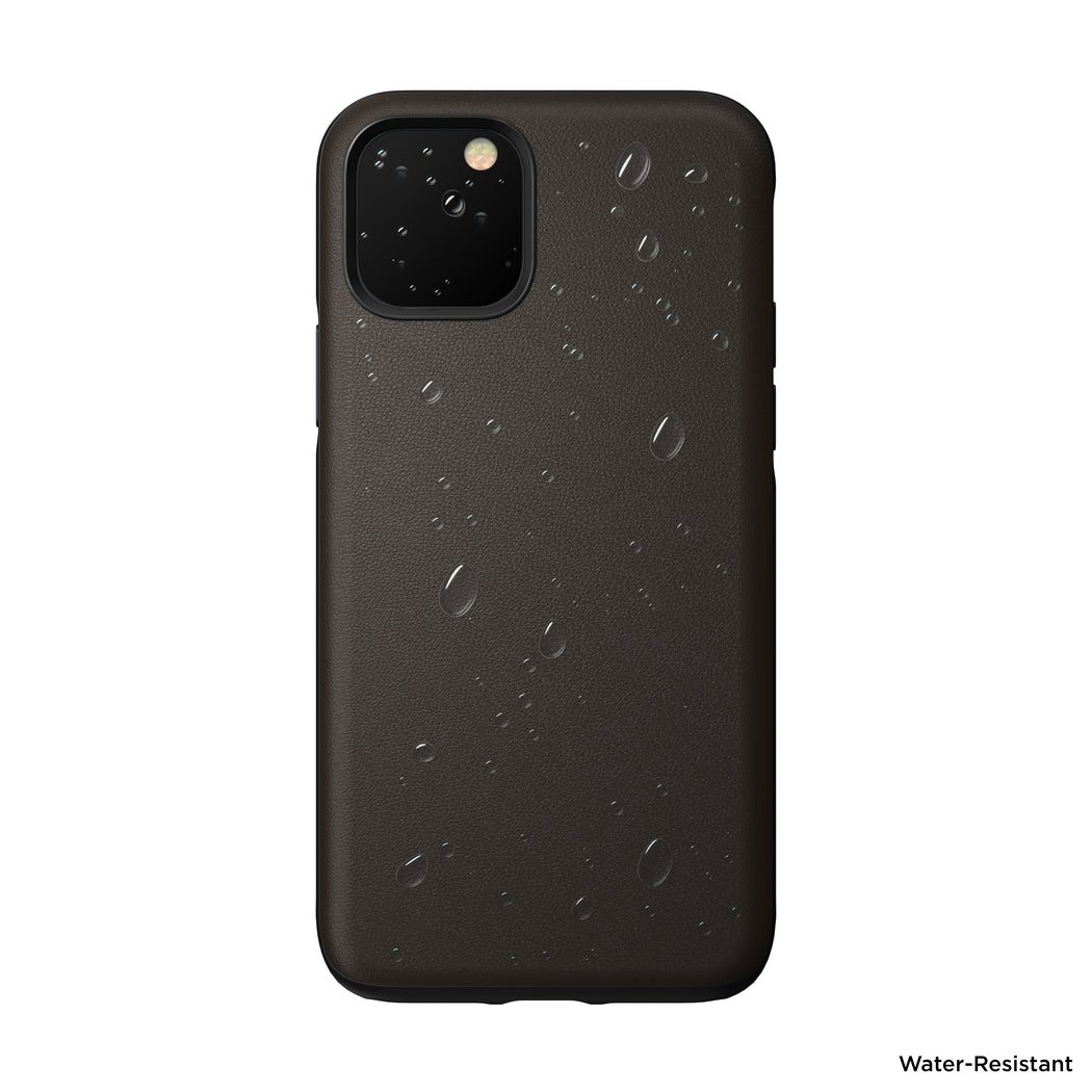 Nomad Active Rugged Case for iPhone 11 Pro - Mocha Brown