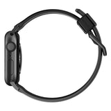 Nomad Rugged Silicone Strap for Apple Watch - Black Hardware
