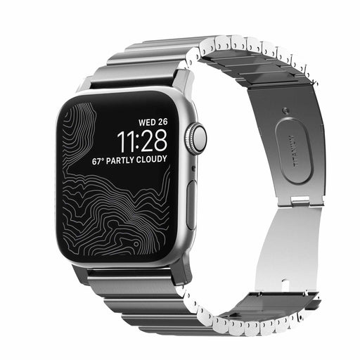 Nomad Titanium Band for Apple Watch - Silver