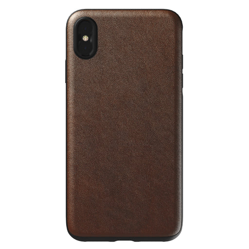 Nomad x Moment Lens Rugged Case for iPhone XS Max - Rustic Brown