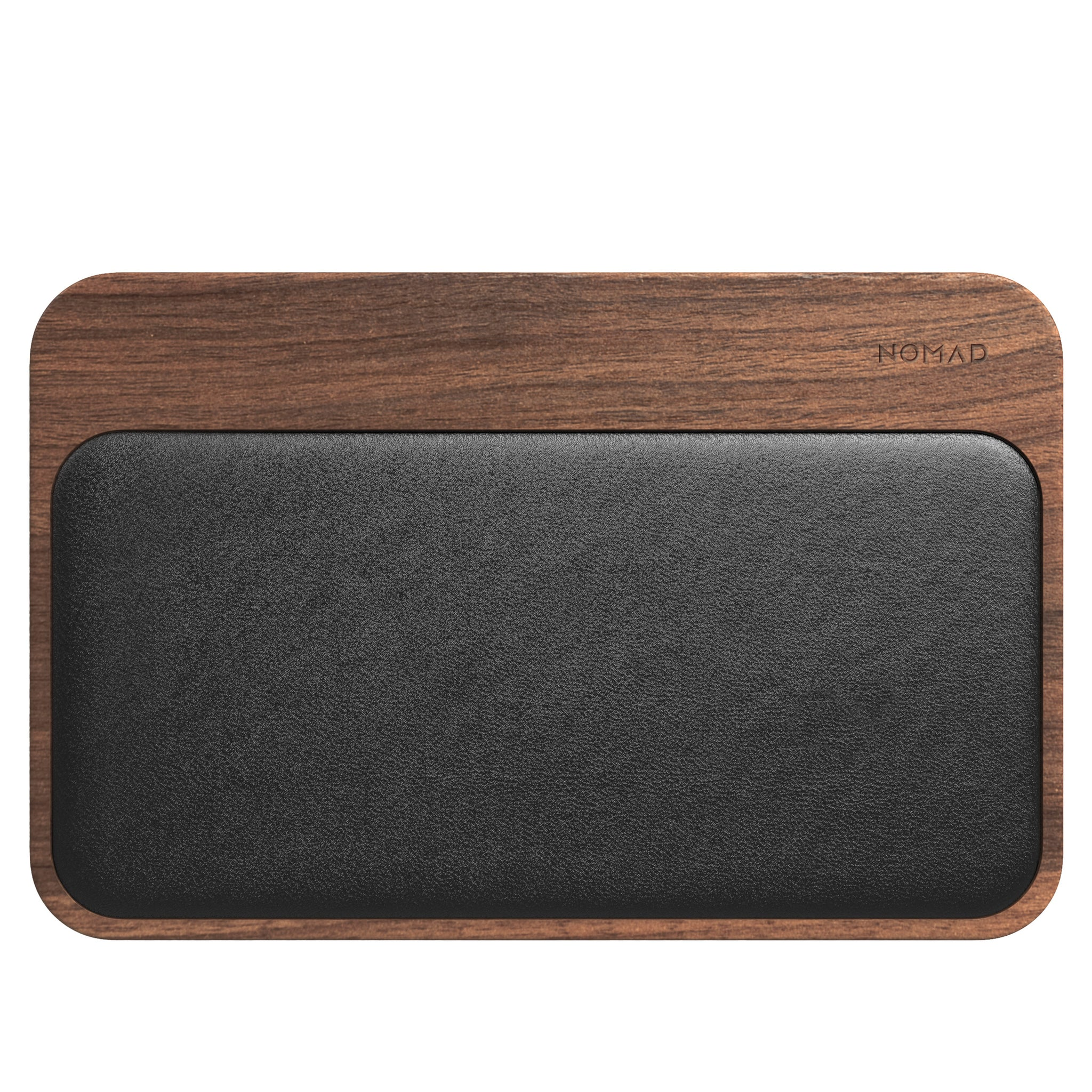 Nomad Base Station Wireless Charger - Hub Edition - Walnut