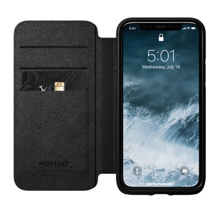 Nomad Rugged Folio for iPhone 11 Pro - Rustic Brown