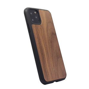 Woodcessories EcoCase Bumper for iPhone 11 Pro Max - Walnut