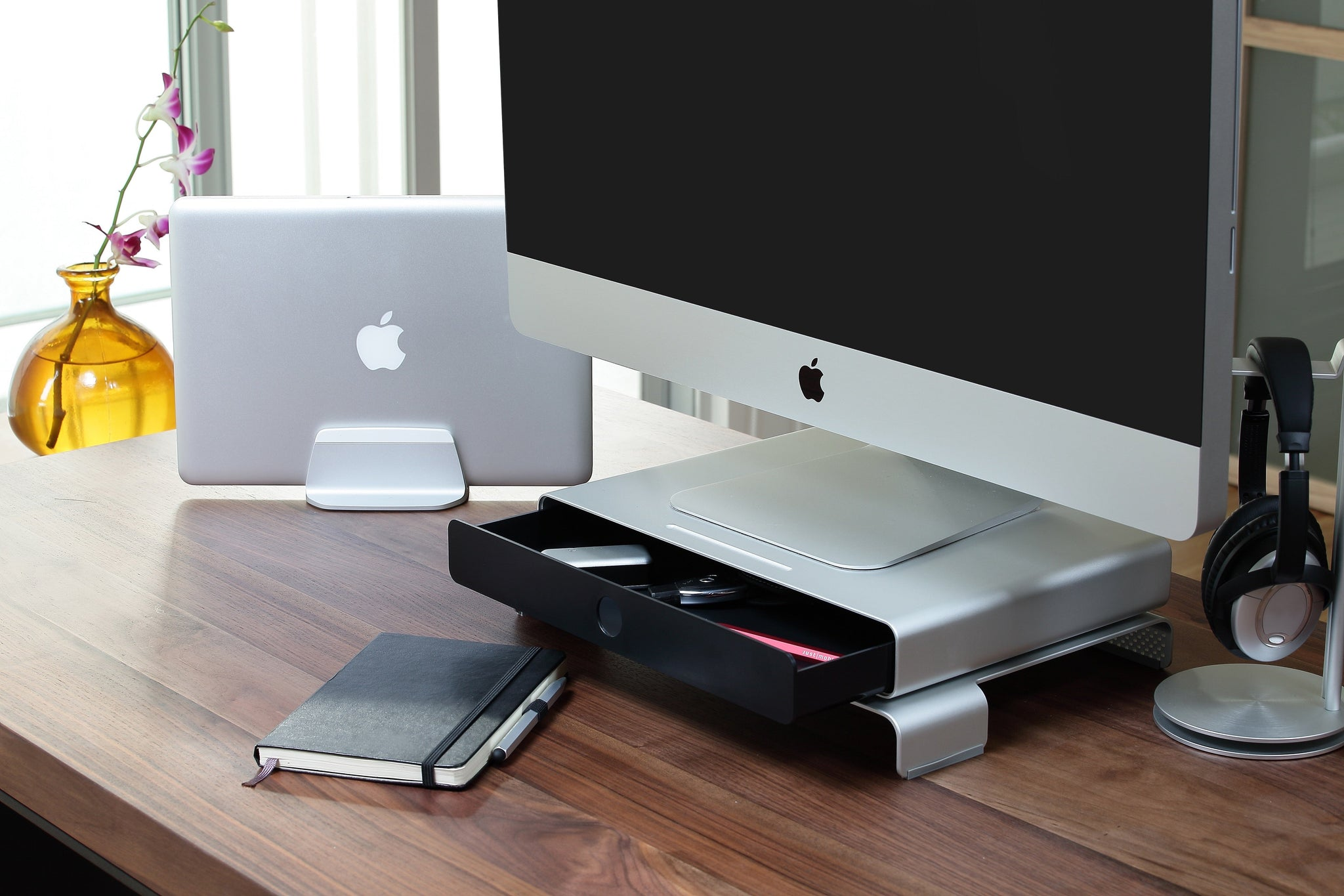Just Mobile Drawer for iMac