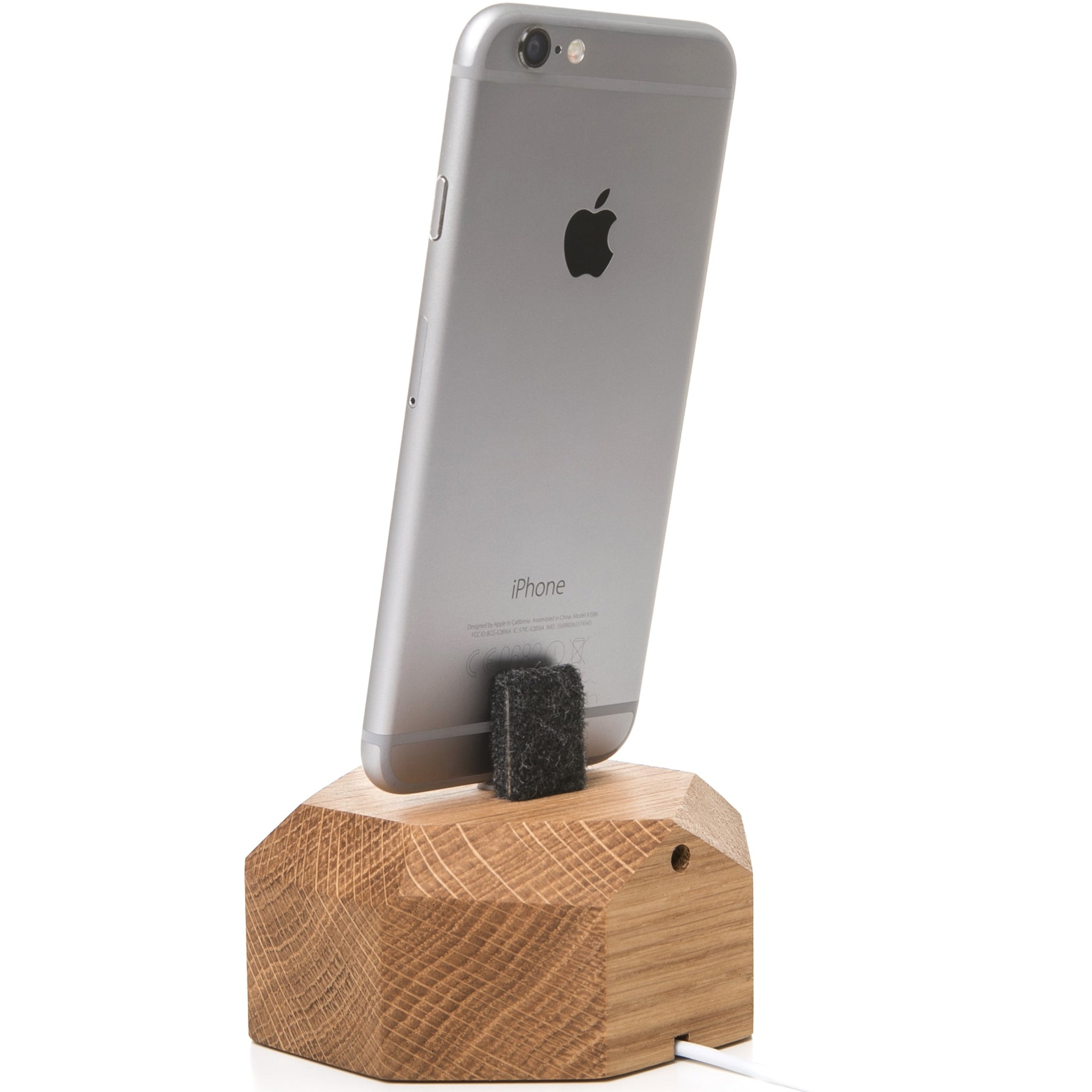 Woodcessories EcoDock for iPhone - Oak