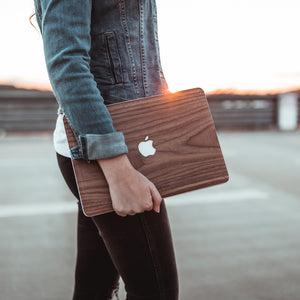 "Woodcessories EcoSkin Wood Cover for 13""  MacBook Pro and Air - Walnut"