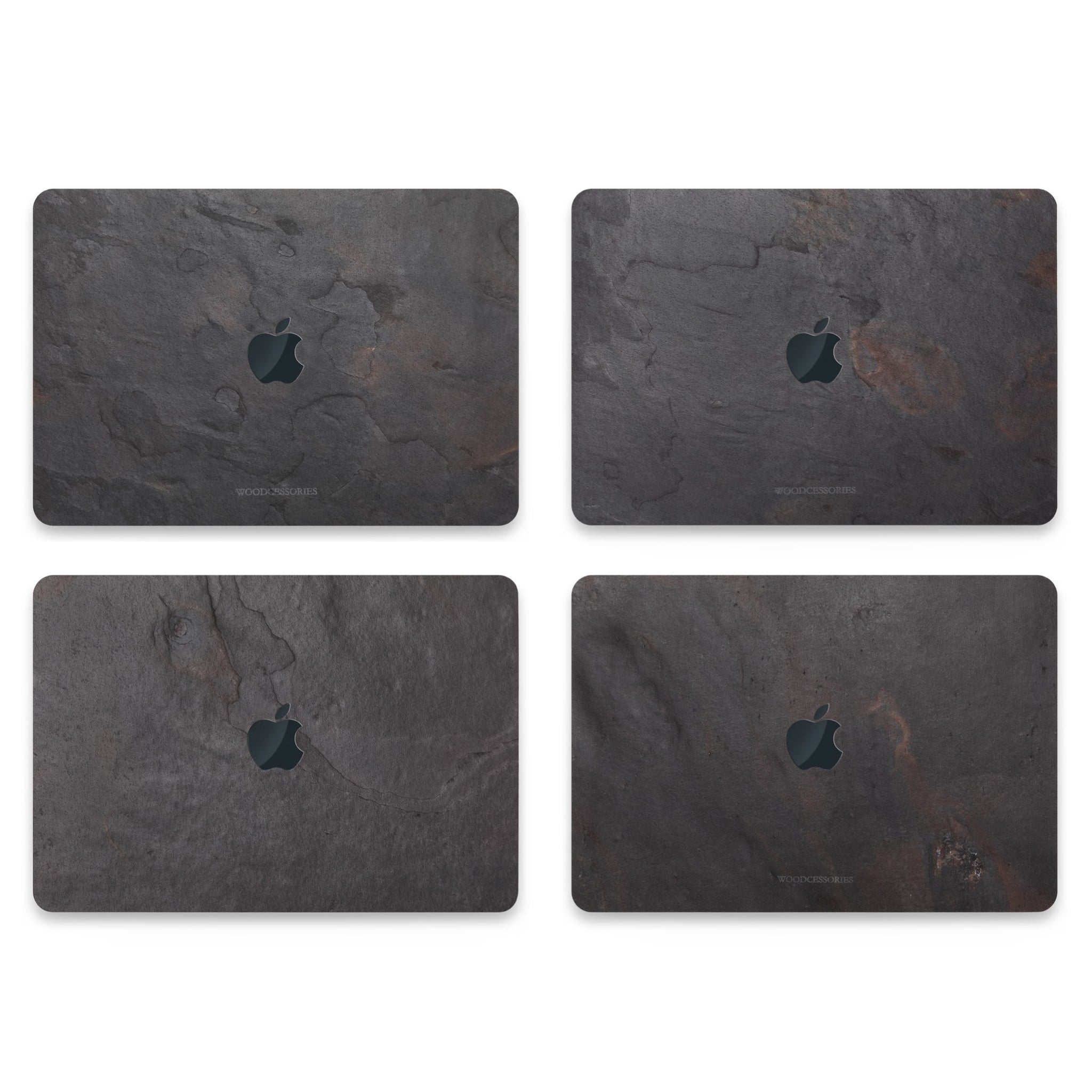 "Woodcessories EcoSkin Stone Cover for 13""  MacBook Pro and Air - Volcano Black"