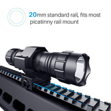 Load image into Gallery viewer, CISNO 1000 LM Tactical Flashlight with Mount and Pressure Switch