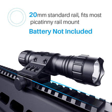 Load image into Gallery viewer, CISNO 1000 Lumens Tactical LED Flashlight with Upgraded Remote Pressure Switch and Offset Mount
