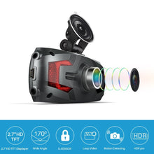 "Load image into Gallery viewer, CISNO 2.7"" 1080P HD LCD Dash Camera"
