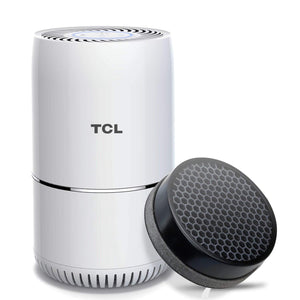 TCL KJ65F-A2 Air Purifier True HEPA Filter 3in1, Smoke Eater, Eliminate Wildfire Ashes, Pet Dander, Allergies, Odors, Dust and Pollen Air Cleaner, CADR 65 m³/h Quite Operation (Available for CA)