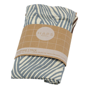 Haps Nordic Multi bag 2-pak Multi bag Winter wave print