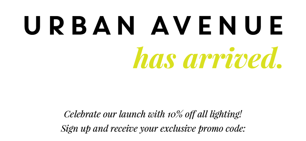 Urban Avenue | The New Destination for Luxury Design