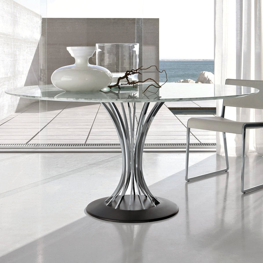 Radar Marble Dining Table | Urban Avenue