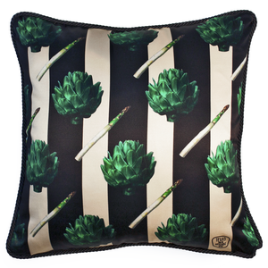 Artichoke Silk Cushion | Urban Avenue