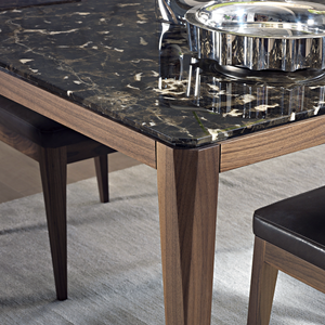 Cut Marble Dining Table | Urban Avenue