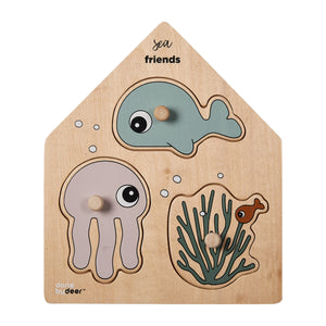 Animal Peg Board Puzzle