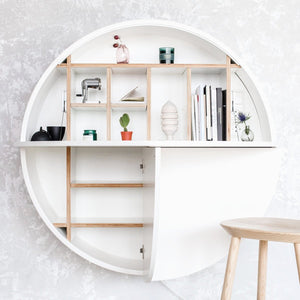 Pill Wall Mounted Desk | Urban Avenue