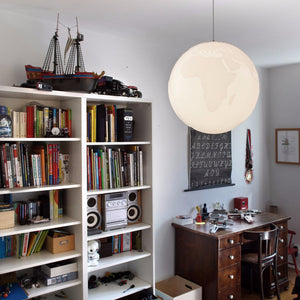 Planet Earth Suspension Light | Urban Avenue